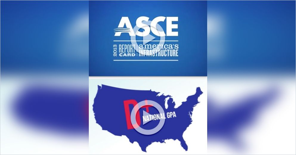 2013 Report Card for Americas Infrastructure Summary ASCE Committee