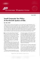 Israeli Corporate Tax Policy