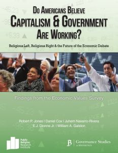 Do Americans Believe Capitalism and Government Are Working? summary
