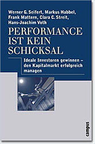 Image of: Performance ist kein Schicksal