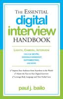 The Essential Digital Interview Handbook book summary