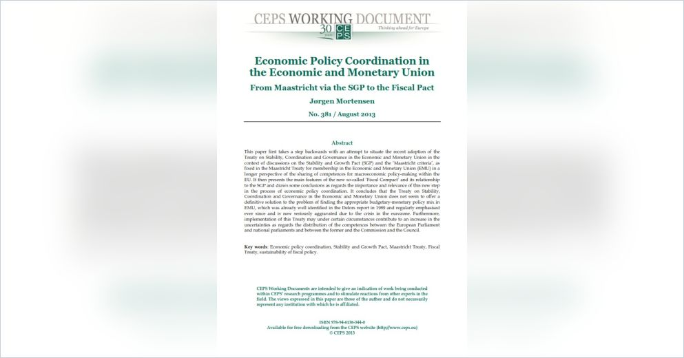 an econometric investigation of monetary policy This paper attempts to investigate the effect of fiscal and monetary policy on indonesian stock price as well as main sectors stock price such as agricultural, mining, manufacture, and financial sector indexes.