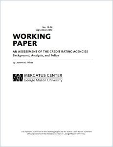 An Assessment of the Credit Rating Agencies summary