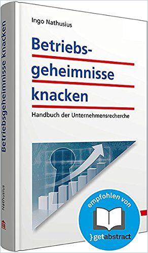 Image of: Betriebsgeheimnisse knacken