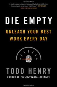 die empty summary todd henry pdf download