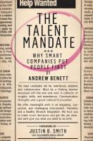 The Talent Mandate book summary