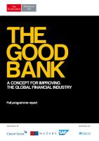 The Good Bank summary
