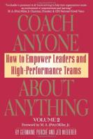 Coach Anyone About Anything, Volume 2 book summary