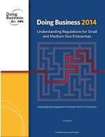 Doing Business 2014 summary