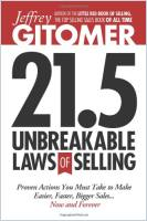 21.5 Unbreakable Laws of Selling book summary