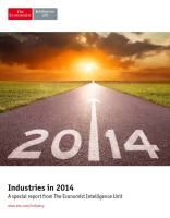 Industries in 2014 summary