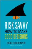Risk Savvy book summary