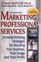 Marketing Professional Services book summary