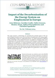 Impact of the Decarbonisation of the Energy System on Employment in Europe summary