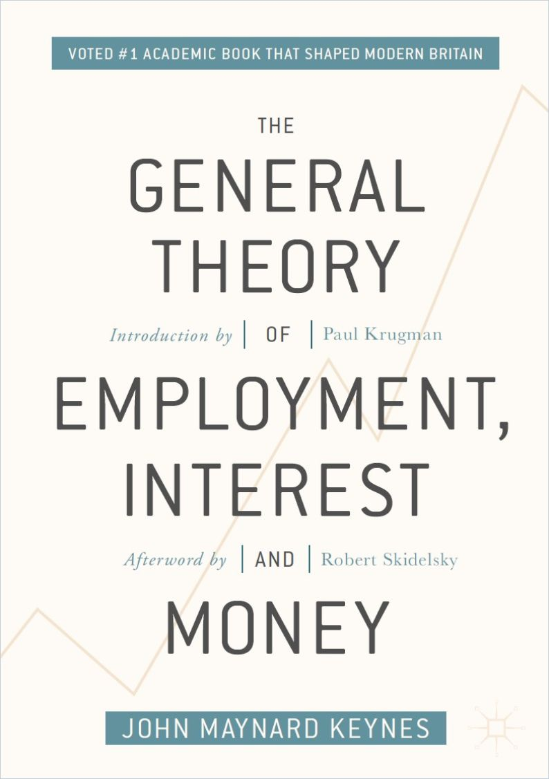 Image of: The General Theory of Employment, Interest, and Money