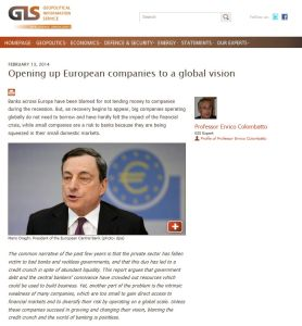 Opening Up European Companies to a Global Vision summary