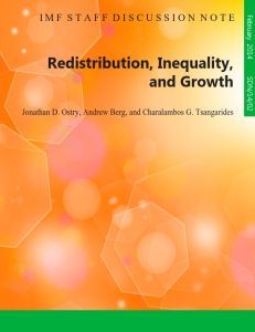 Redistribution, Inequality, and Growth