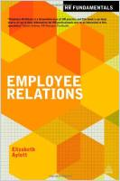 Employee Relations book summary