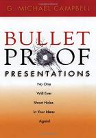 Bullet Proof Presentations book summary