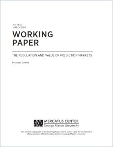 The Regulation and Value of Prediction Markets summary