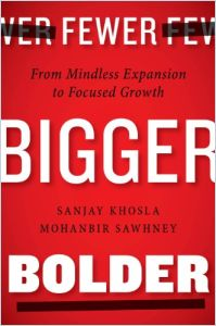 Fewer, Bigger, Bolder book summary