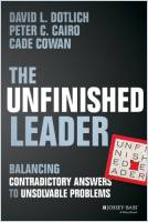 The Unfinished Leader book summary