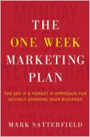 The One Week Marketing Plan book summary