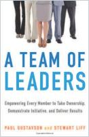 A Team of Leaders book summary