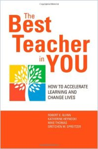 The Best Teacher in You book summary