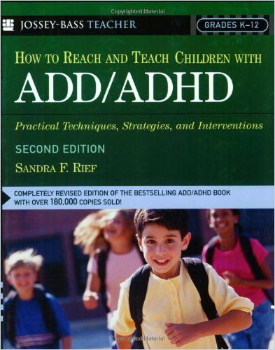 Image of: How to Reach and Teach Children with ADD/ADHD