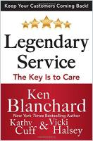 Legendary Service book summary