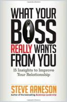 What Your Boss Really Wants from You book summary