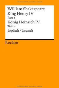 König Heinrich Iv Teil 2 Von William Shakespeare Gratis
