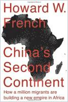 China's Second Continent book summary
