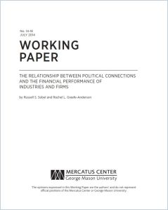 The Relationship Between Political Connections and the Financial Performance of Industries and Firms summary