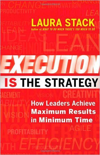 Image of: Execution Is the Strategy