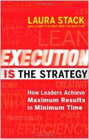 Execution Is the Strategy book summary