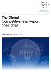 The Global Competitiveness Report 2014–2015