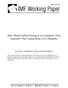 How Much Carbon Pricing is in Countries' Own Interests? summary