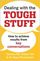 Dealing with the Tough Stuff book summary