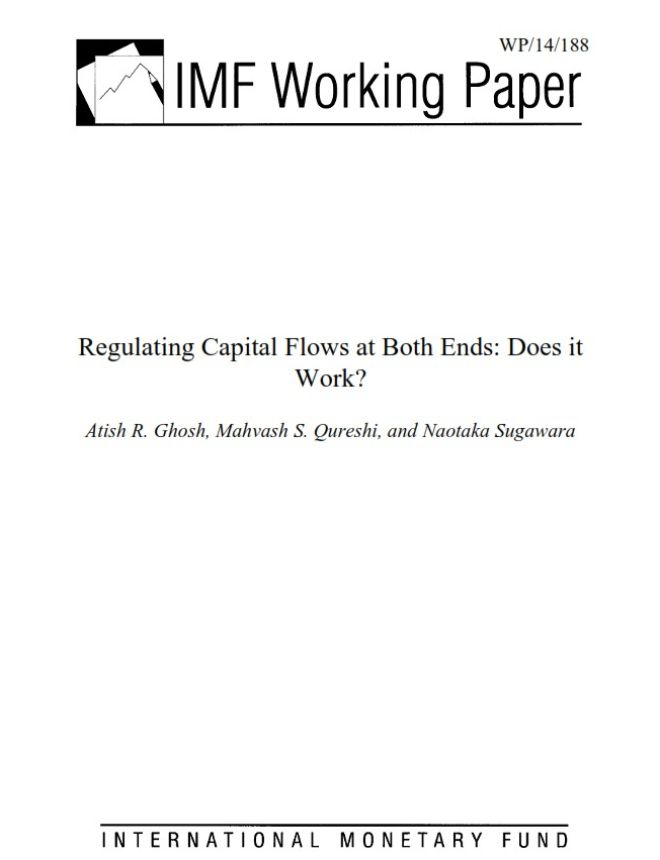 Image of: Regulating Capital Flows at Both Ends