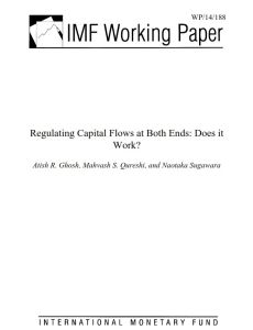 Regulating Capital Flows at Both Ends summary
