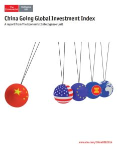 China Going Global Investment Index summary