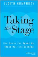Taking the Stage book summary