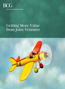 Getting More Value from Joint Ventures