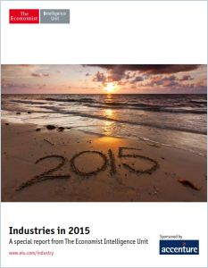 Industries in 2015 summary