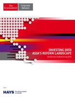 Investing into Asia's Reform Landscape summary