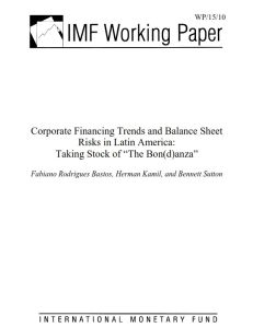 Corporate Financing Trends and Balance Sheet Risks in Latin America summary