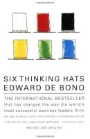 Six Thinking Hats book summary