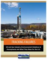 Fracking Failures summary